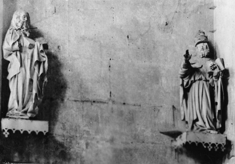 Statuettes : Saint Pierre, Saint Paul, vue générale