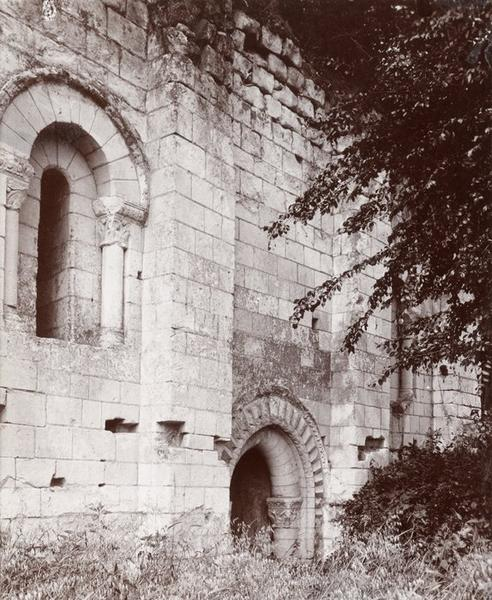 Chapelle, flanc nord, vue partielle