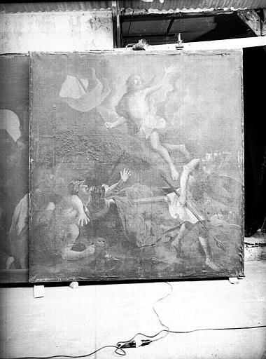 Peinture sur toile : La Résurrection du Christ