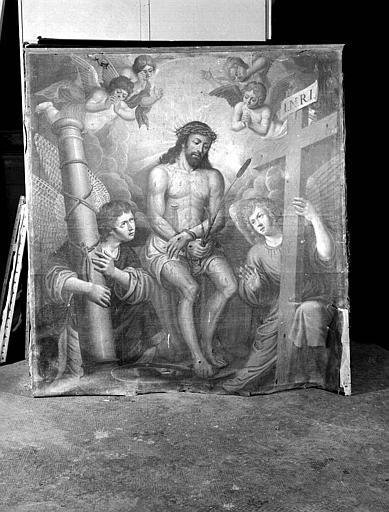 Peinture sur toile : Christ de Pitié