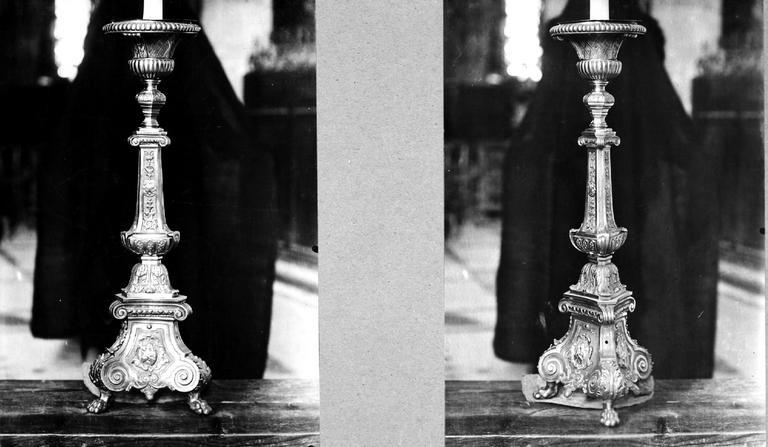6 chandeliers du maître-autel