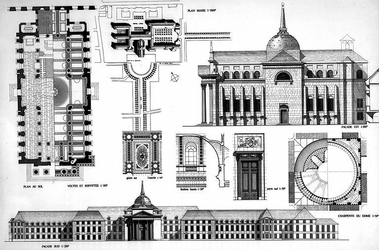 Concours d'architecte : projet de Voinchet