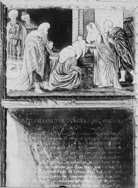 Ensemble de 3 canons d'autel