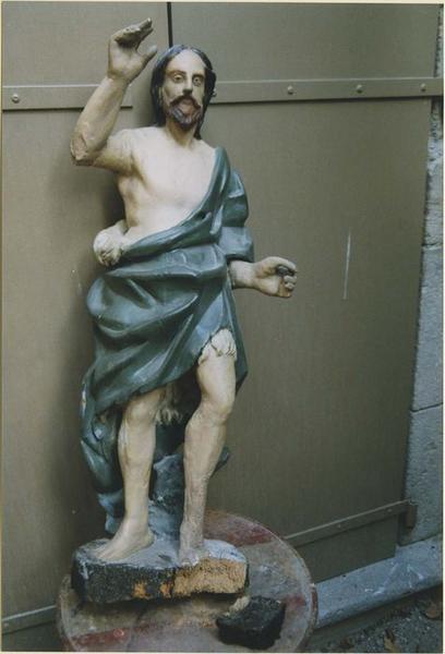 Statue: saint Jean-Baptiste, vue générale