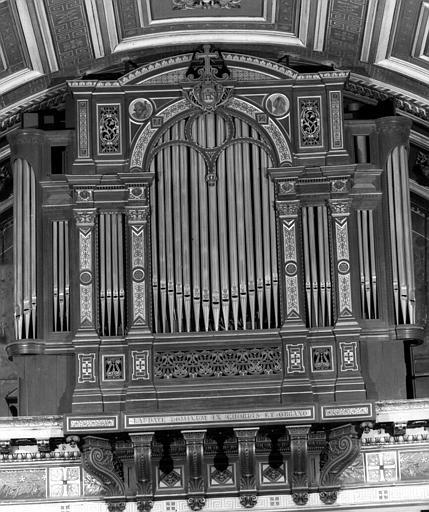 Buffet et tribune d'orgue