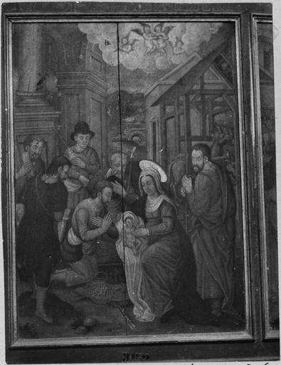 Triptyque : L'Adoration des bergers, L'Adoration des Mages, La Purification