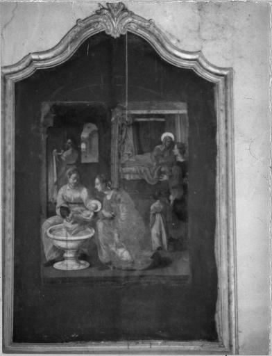tableau, cadre : La Nativité de la Vierge
