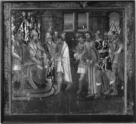 tableau : Jésus devant Caïphe