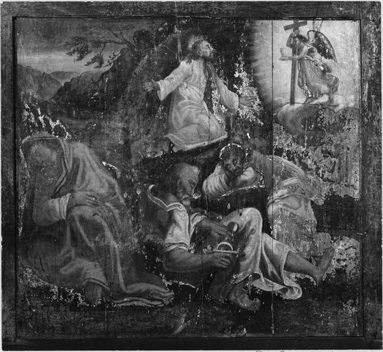 tableau : Le Christ au Jardin des Oliviers