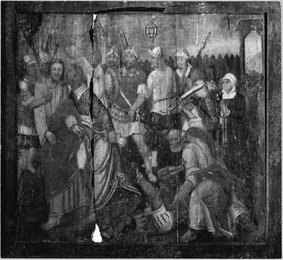 tableau : L' Arrestation du Christ au Jardin des Oliviers