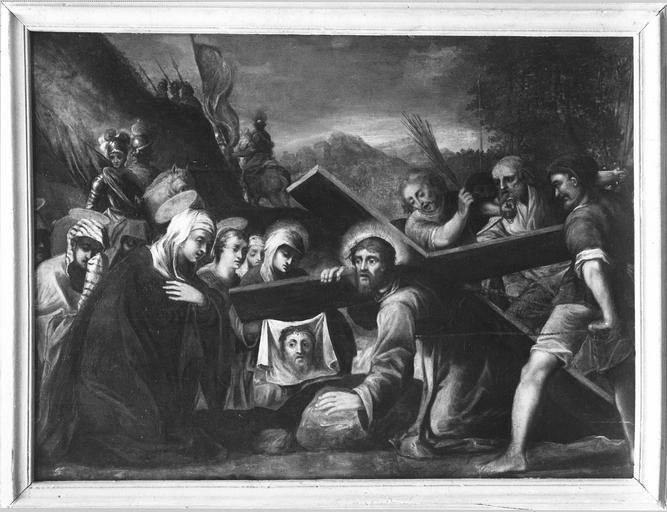 tableau : Le Christ rencontrant les saintes femmes