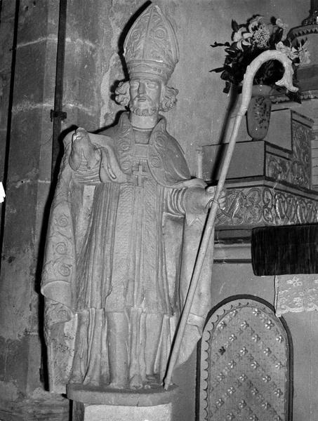 statue : Saint Nizier