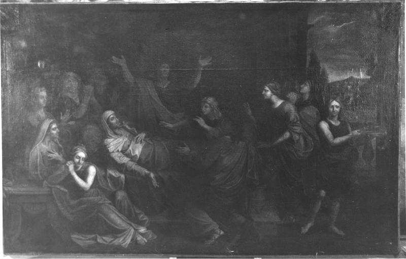 tableau : La Dormition de la Vierge