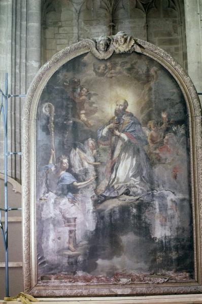 tableau, cadre : L' Apothéose de saint François de Sales