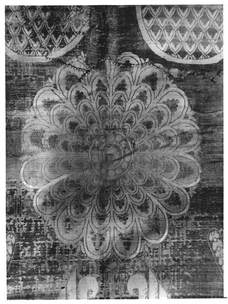 drap mortuaire : suaire dit de saint Germain