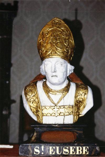 2 bustes-reliquaires : Saint Amâtre, Saint Eusèbe