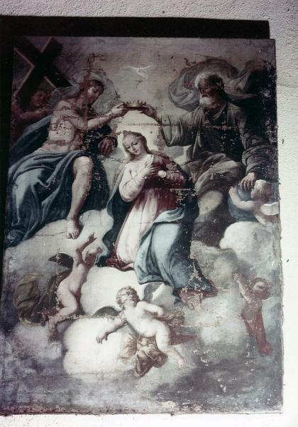 tableau : Le Couronnement de la Vierge