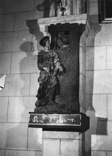 statue : Voeu à Notre-Dame de Liesse