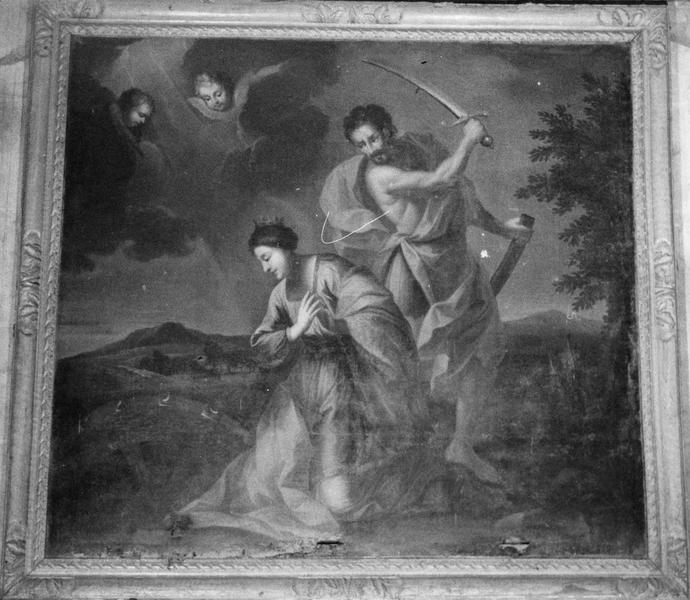tableau : Le Martyre de sainte Catherine