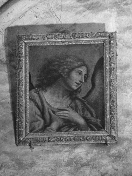 Tableau, cadre : Buste de l'archange Gabriel