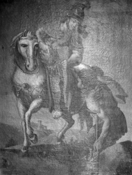 tableau : La Charité de saint Martin