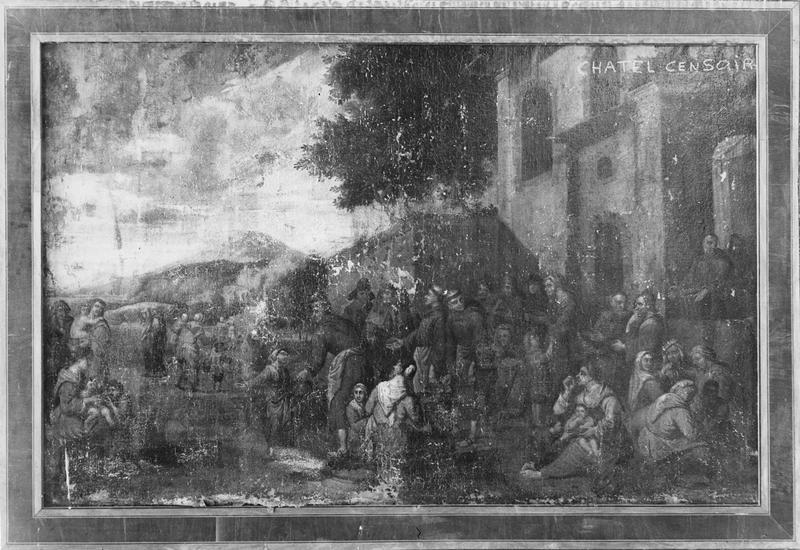 tableau : Episode de la vie de saint François d'Assise