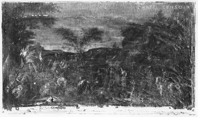 tableau : Salomon et la reine de Saba ou Alexandre et la famille de Darius