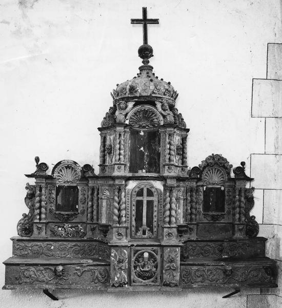 retable, tabernacle