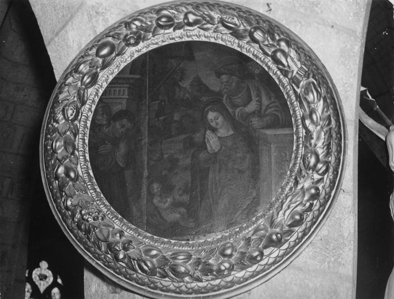 tableau : L' Adoration des Bergers