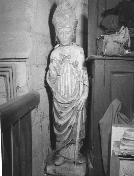 Statue : Saint Geoffroy