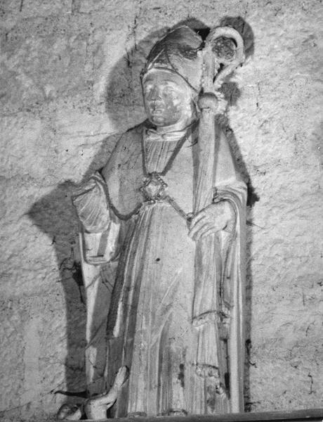 Statue : saint Nicolas, évêque