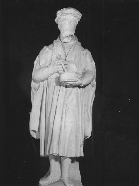 statuette : saint Côme, saint Damien