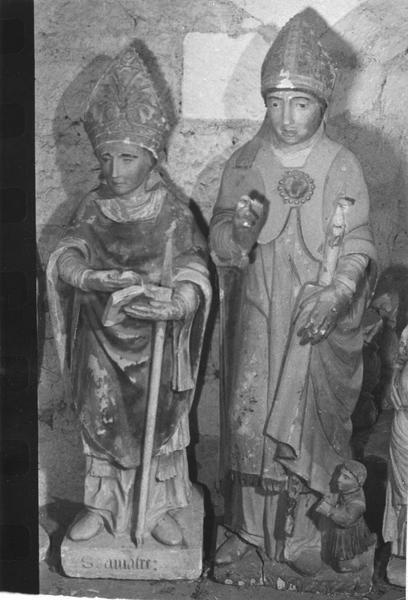 statue : Saint Amatre