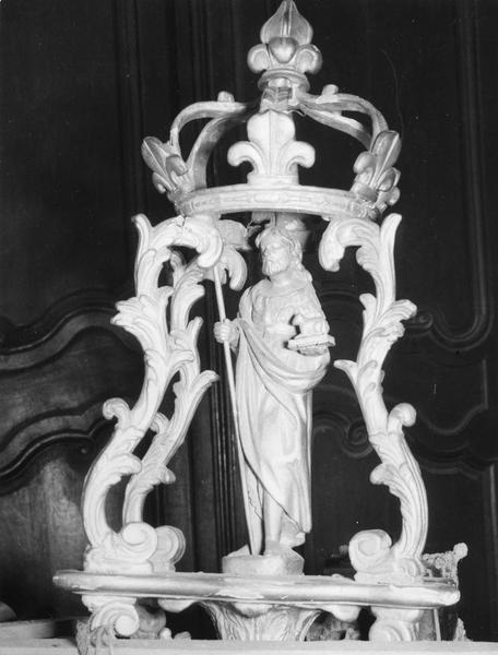 bâton de procession de confrérie :  Jean-Baptiste