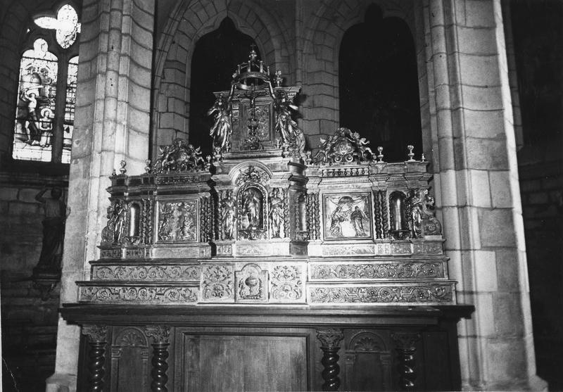 retable, tabernacle, exposition