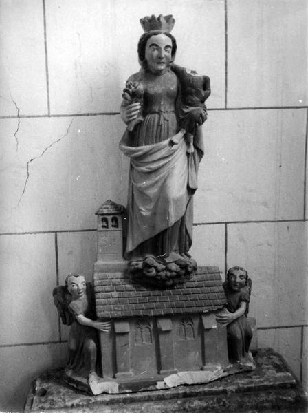 groupe sculpté : Notre-Dame de Lorette