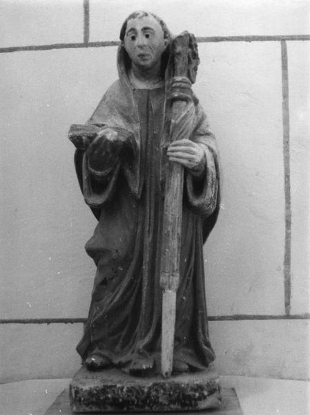 statuette : saint Robert