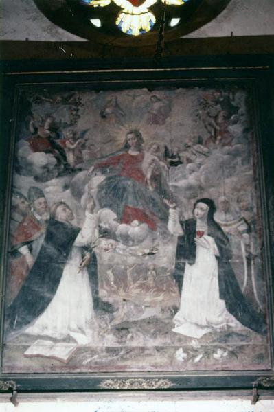 tableau, cadre : L' Institution du Rosaire