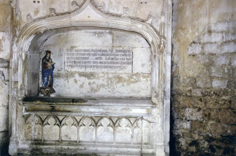 plaque commémorative de Nicolas le Goulier