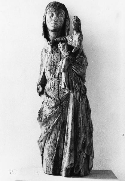 groupe sculpté : Sainte Anne, la Vierge à l'Enfant