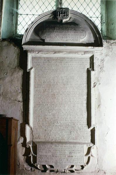 plaque funéraire de Charlotte Quartier