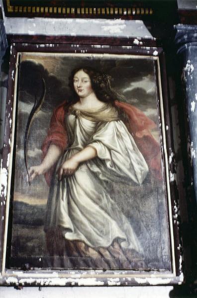 Tableau : Sainte Catherine