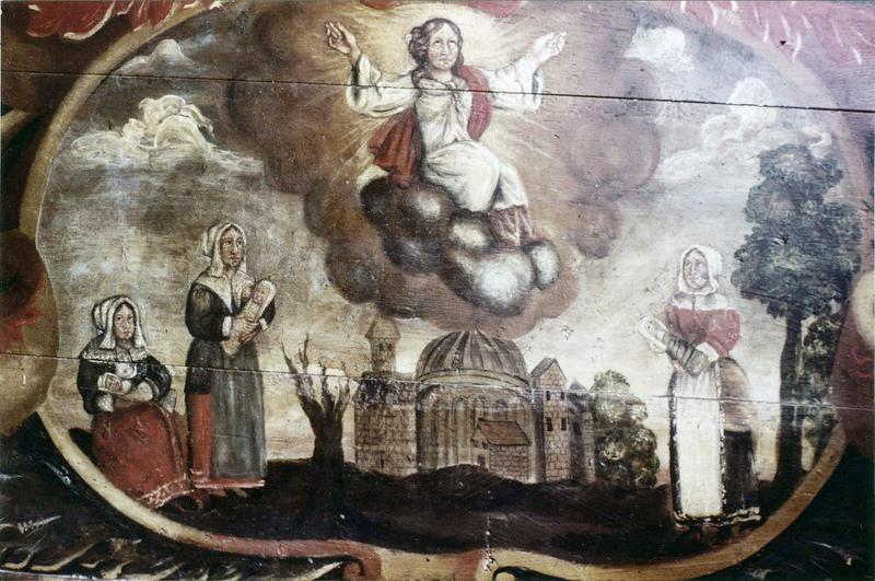devant d'autel : La Glorification de la Vierge