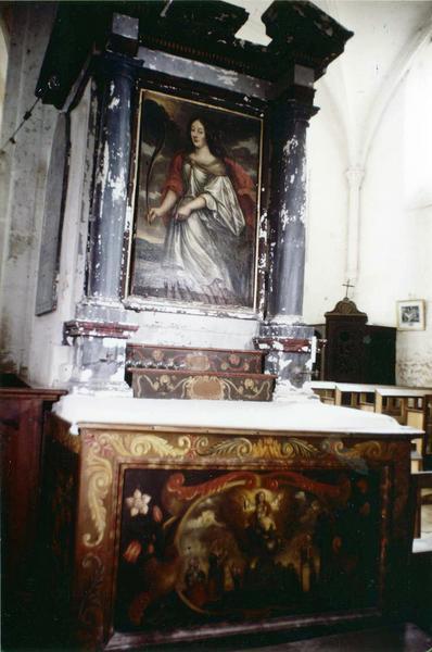 autel, retable, tableau