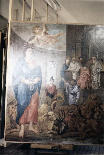 tableau : Le Martyre de saint Mammès