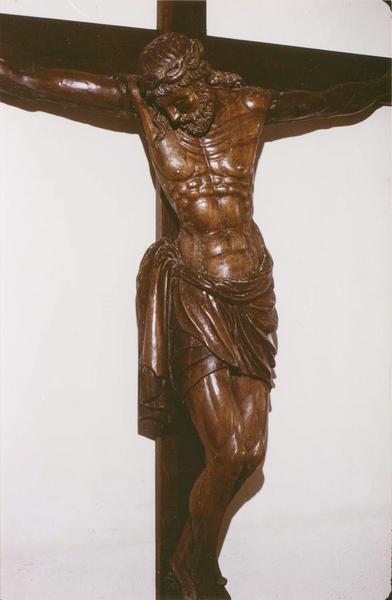 statue : Christ en croix, dit Christ aux orties