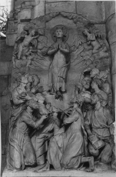 bas-reliefs, L' Ascension, La Résurrection