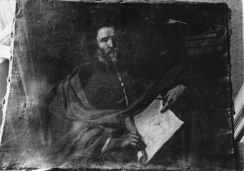 tableau : saint Luc l'Evangéliste