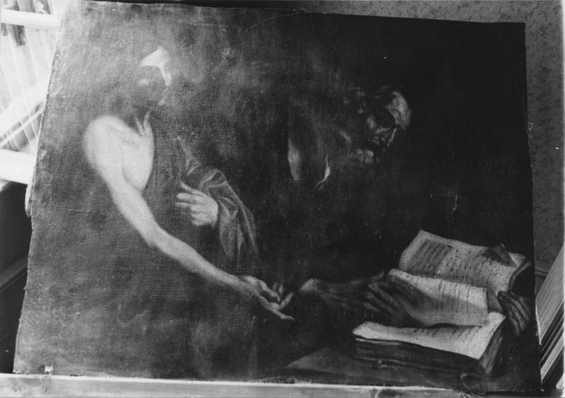 Tableau : Saint Matthieu l'Evangéliste