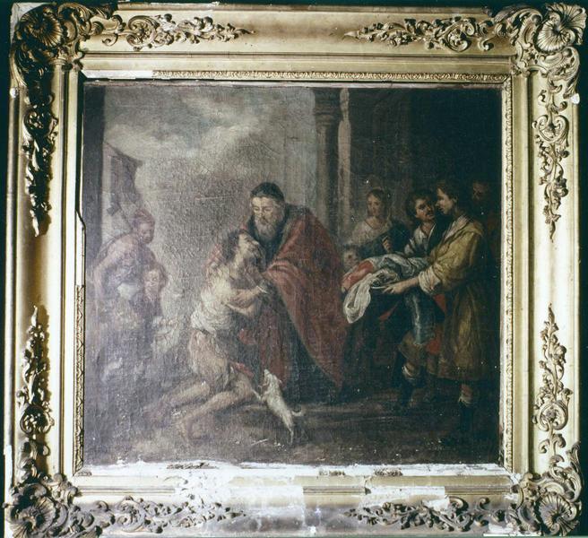 tableau, cadre : Le Retour de l'enfant prodigue